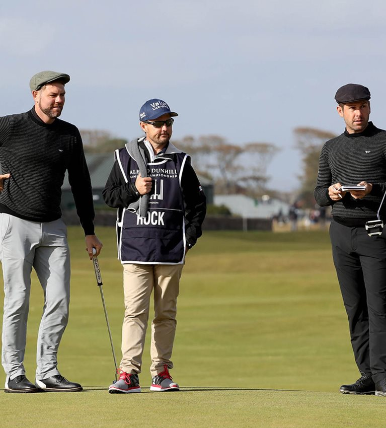 Brian McFadden wants to be on song for Carnoustie