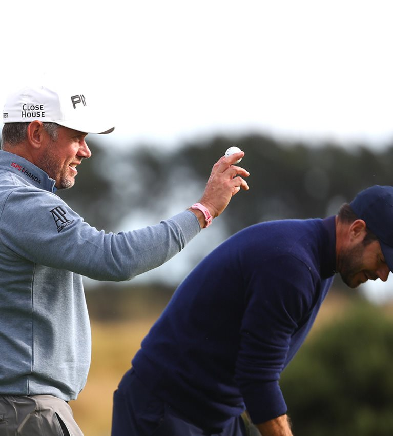 Keating watches as Lee Westwood has hole-in-one at Carnoustie