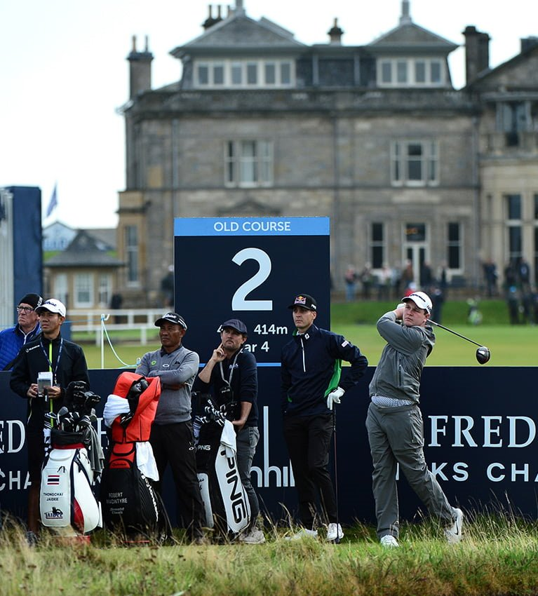 Winning as a Scot at the Home of Golf is where I want to be, says Bob MacIntyre