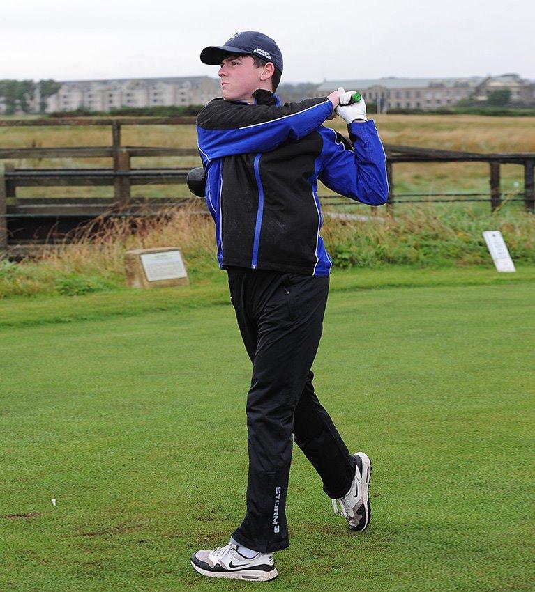 Schools Golf Challenge inspires pupils at Carnoustie