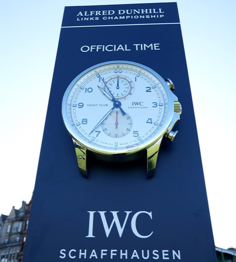 IWC named official timing partner of Alfred Dunhill Links