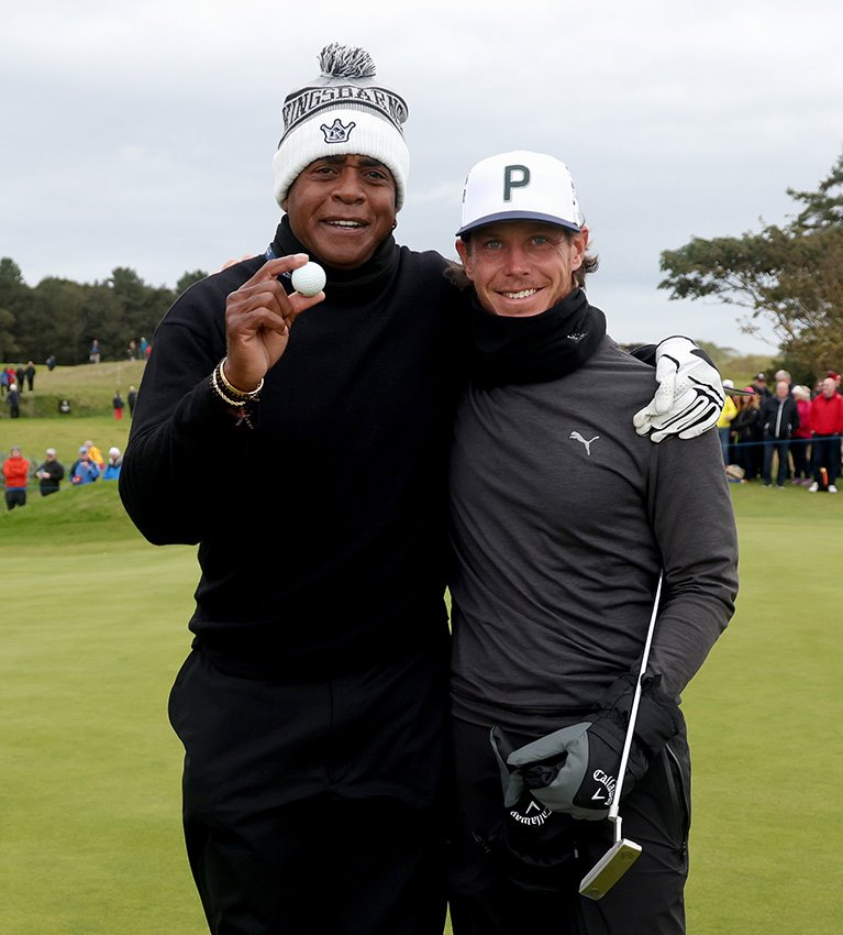 Hole-in-one? Time to call Tiger!