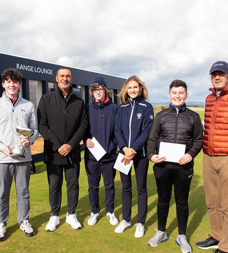 Ruud Gullit's tips for young Scots golfers