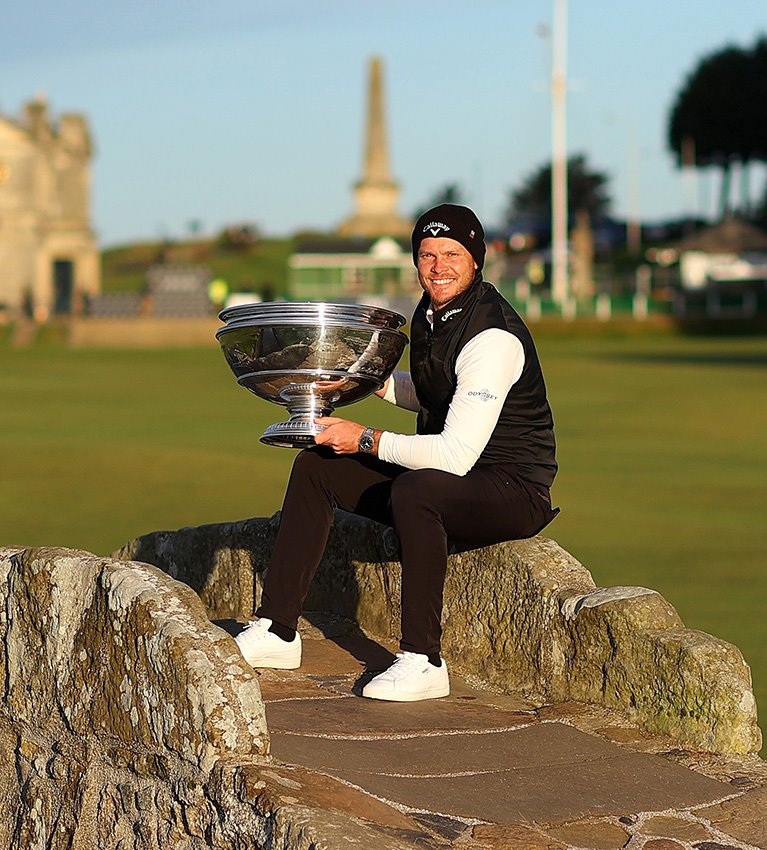 Birthday cheers on the Old Course for Willett